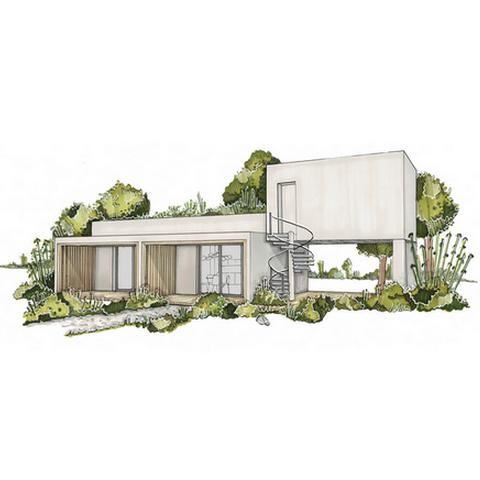 Maison pour jardin19 a 79 m²